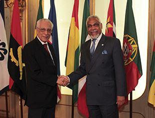 Secretário Executivo recebe Presidente do Conselho Diretivo do Observatório da Língua Portuguesa